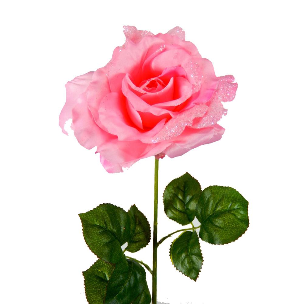 31aa6f5b1b0d Flor artificial rosa 73cm Rosado - FloraCenter - floracenter ...