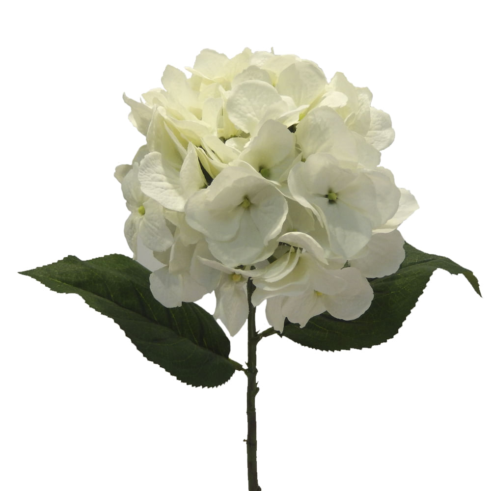 Flor Artificial Hortensia 66 Cm Blanco Floracenter Floracenter