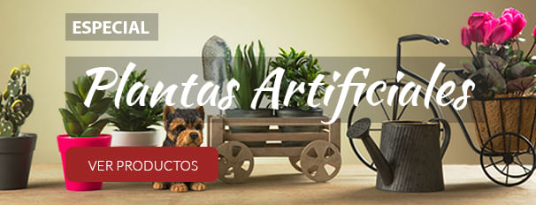 Especial Plantas Artificiales - Flora Center